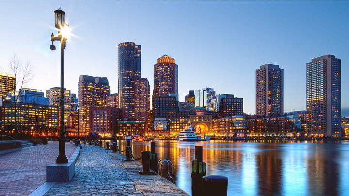 Zboruri ieftine catre Boston, USA – 230 euro(dus-intors)