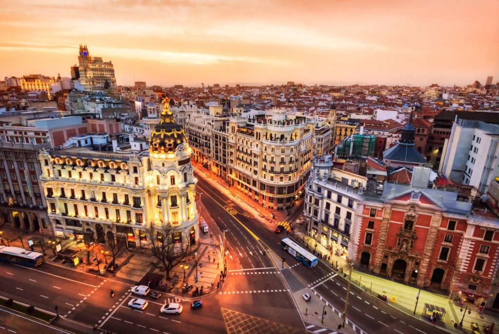 Weekend prelungit in Madrid (Spania), 145 euro! ( zbor + cazare 4 nopti)