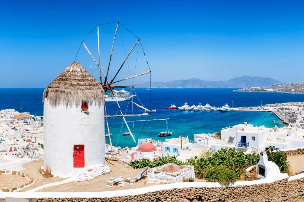 Vacanta de vara in Mykonos, Grecia la 186 euro (zbor si cazare 4 nopti)!