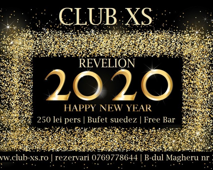 Revelion 2020 in Club XS