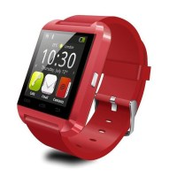 smartwatch-u-watch-bluetooth-u8-rosu