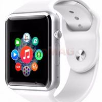 Smartwatch cu Telefon iUni A100i 1294-1, BT, LCD Capacitive touchscreen 1.54 Inch, Camera (Alb) • iUni