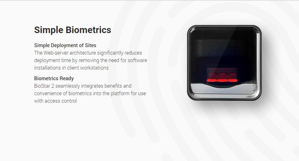 Simple Biometrics