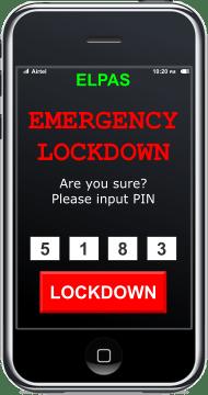 Emergency Lockdown Panic Alarm System
