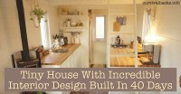Tiny House Interior Design Cozy Rustic Tiny House With ...