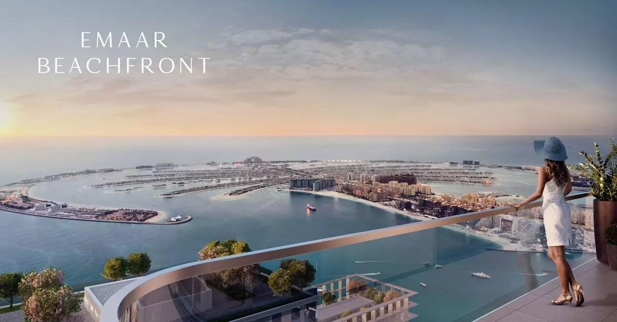 Marina Vista at Emaar Beachfront  Dubai Harbour  Off