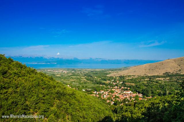 Љубојно - село во Преспа - фото галерија