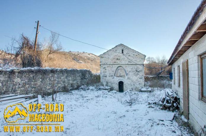 Св. Димитрие -црква од XIV век во село Градешница - Мариово