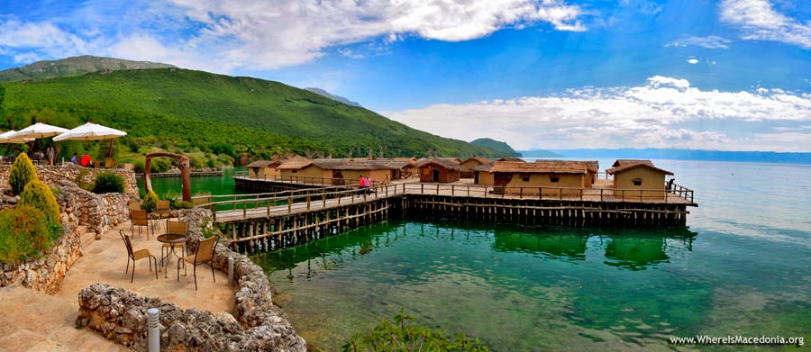Bay of the Bones on Ohrid Lake - Photo Gallery