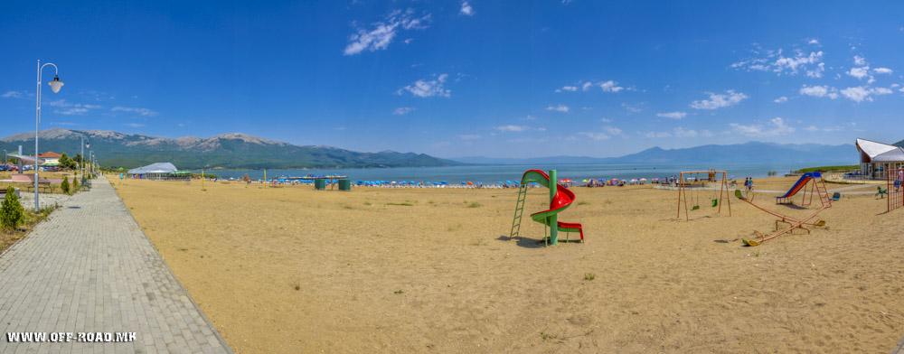 Плажа Стење на Преспанско Езеро