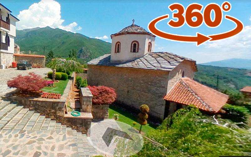 Манастир Рајчица - Св. Ѓорги Победоносец - 360* панорами