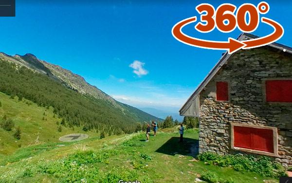 Shiroka - mountain house - Pelister - 360* panoramas