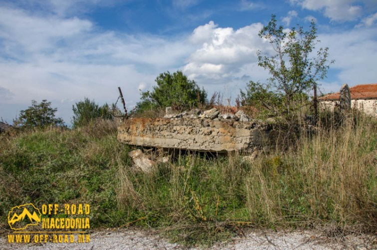 WW1 bunker in Staravina village - Mariov