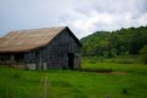 Old barn on the Blue Ridge Parkway