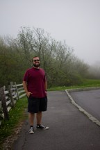 John, enjoying the great fog at 5k feet