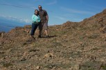 Mandy and John on Flattop Mountain