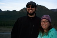 John and Mandy at Denali National Park