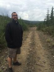 John on the trail