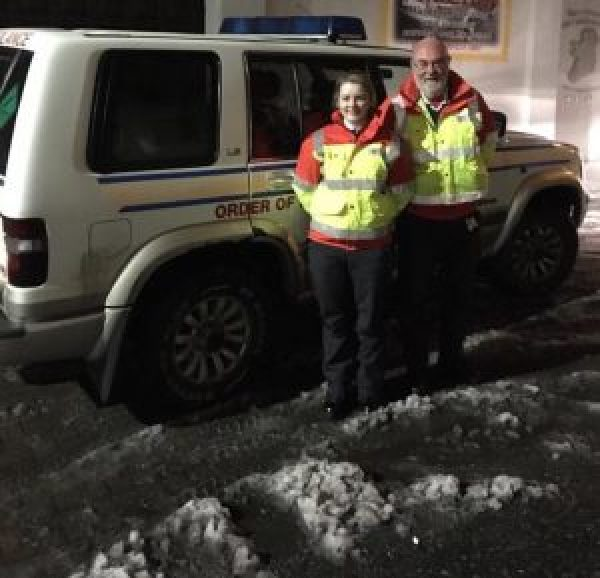 Order of Malta Thurles Snow Response
