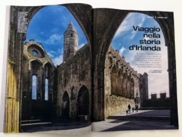 Italians Read All About The Rock Of Cashel