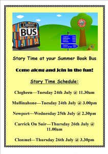 Tipperary Libraries Summer Book Bus