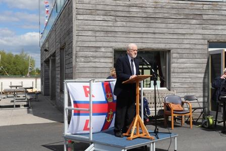 Lough Derg RNLI holds Naming Ceremony for new Atlantic 85 B-911 'Jean Spier'