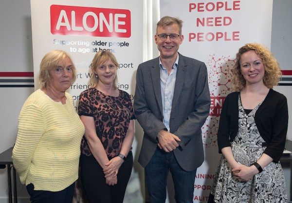 Tipperary group attend Befriending Network Ireland seminar, hosted by ALONE