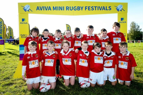 Five Tipperary clubs take part in Aviva Mini Rugby Provincial Festival