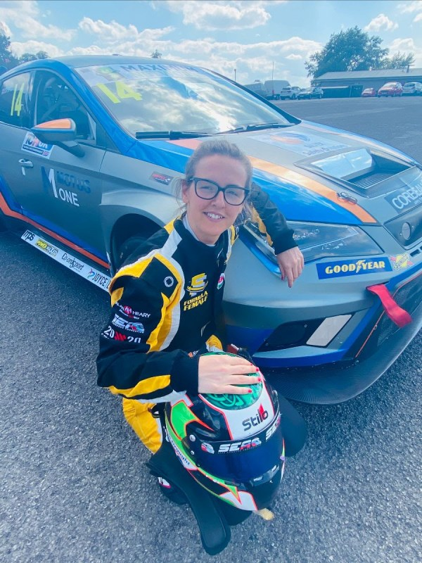 Nicole Drought Returns to Britcar with Motus One
