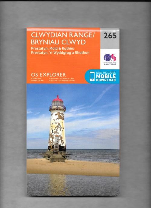 OS 265 - Clwydian