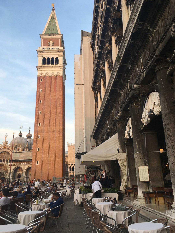 restaurant Piazza San Marco Venice Italy
