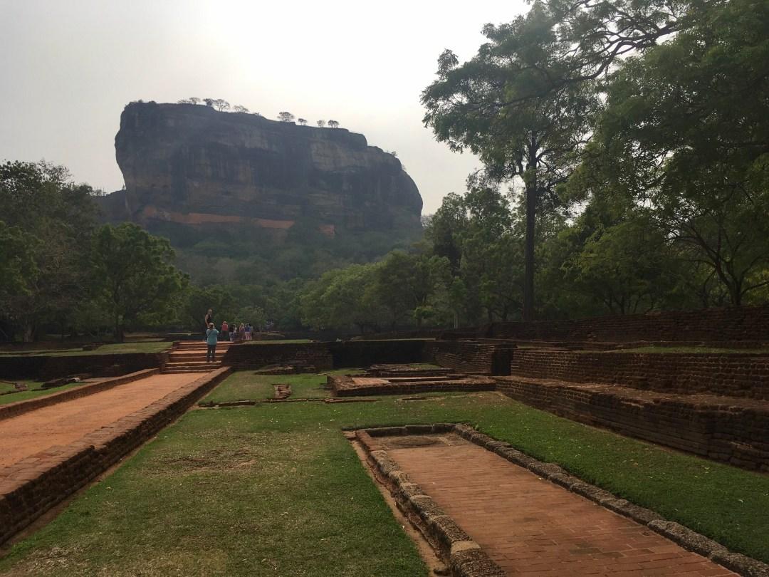 Sigiriya, located in Sri Lanka's cultural triangle