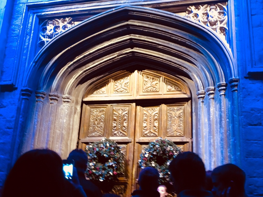 Doors to the grand hall at