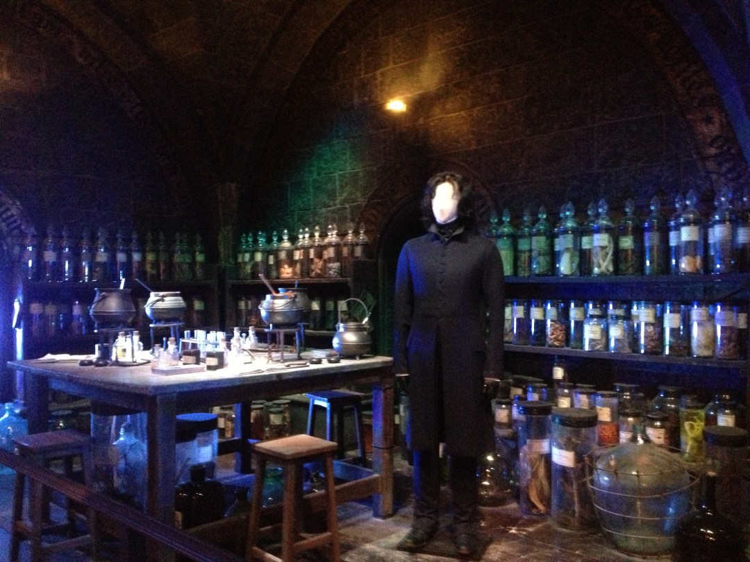 Potions classroom - Warner Brothers Studio: The Making of Harry Potter Tour