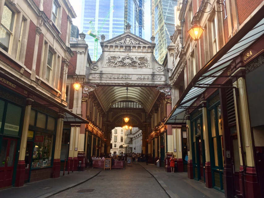 Leadenhall Market - filming location and inspiration for Diagon Alley in Harry Potter