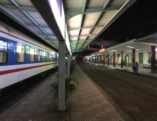 Vietnam sleeper train