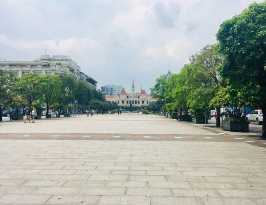 Ho Chi Minh Square, Saigon, Vietnam