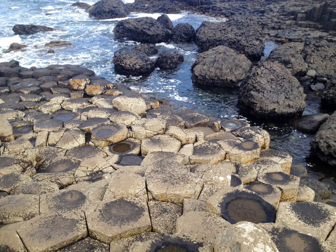 Hexagonal rocks, Giant's Causeway, Northern Ireland