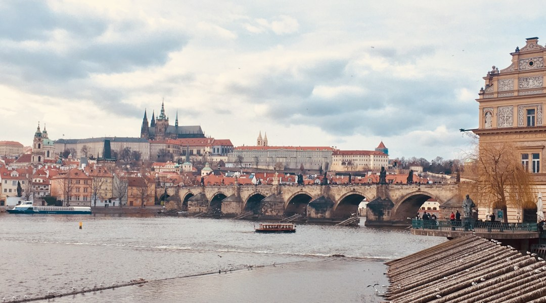 Charles Bridge and Vlatava River