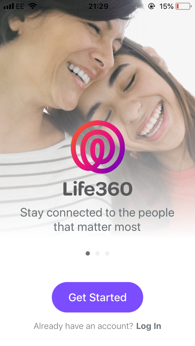 Life360 app screenshot