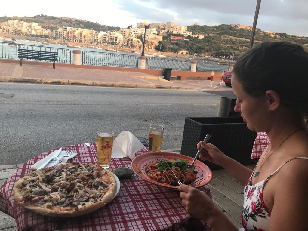 Xemxija Café Lounge in St Paul's Bay Malta