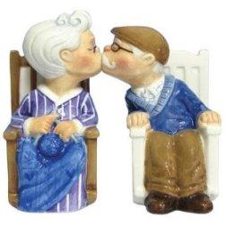 Rocking Elderly Couple