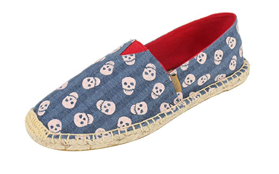 Skull shoes for your Halloween wedding, or just because