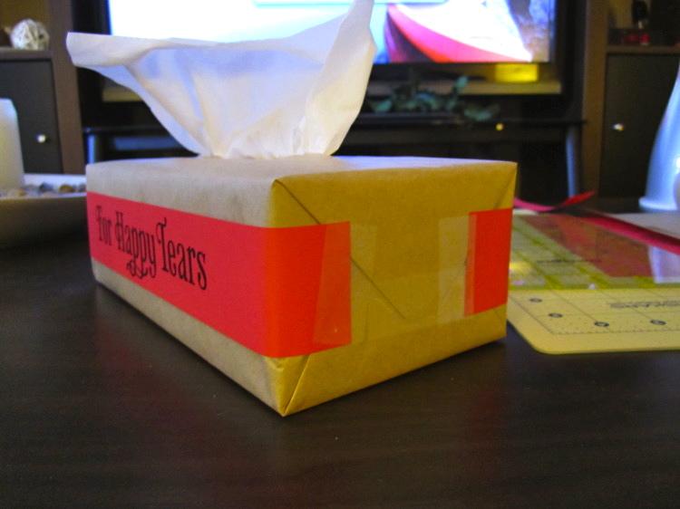 happy tears wedding tissues 11