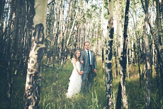 Caroline and Joe's Colorado wedding.