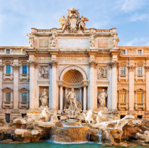 With Traveler's Joy, you can put the Trevi Fountain on your wedding registry!