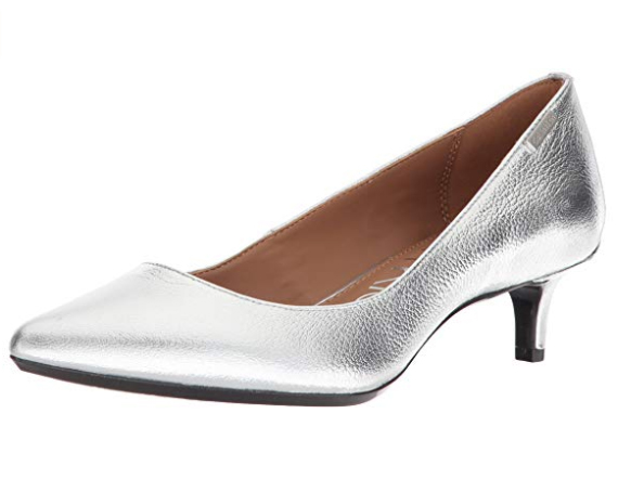 Low heel wedding shoes