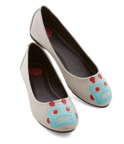 robot shoes