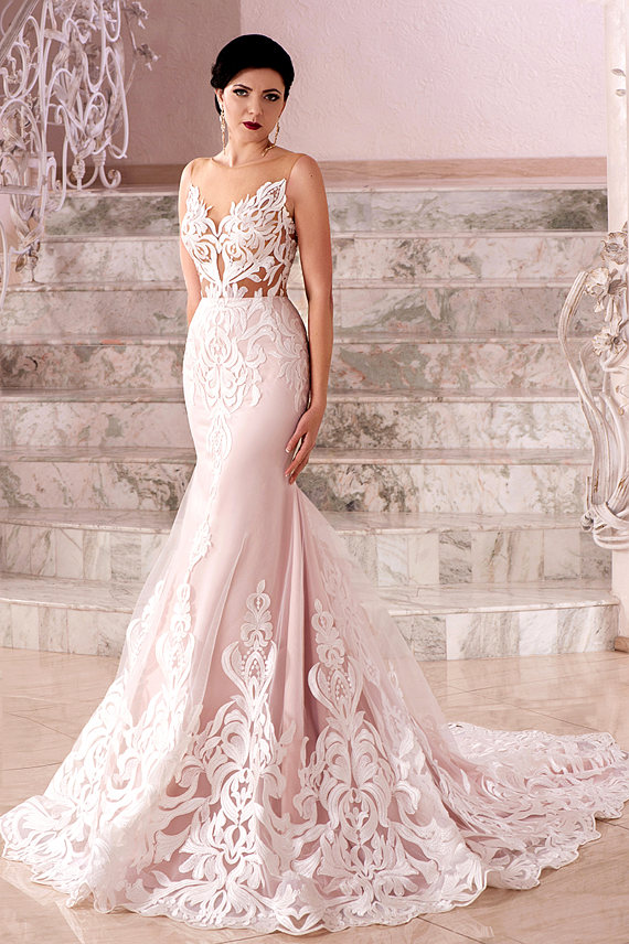 Mermaid wedding accessories