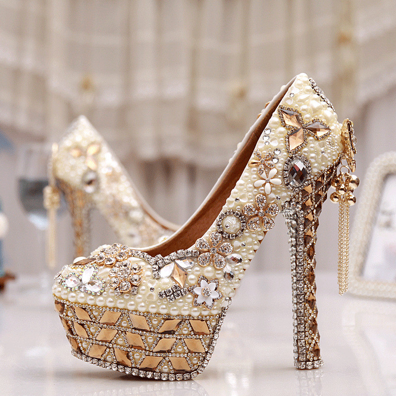 Size-34-43-Plus-Size-Gorgeous-High-Heel-Crystal-Wedding-Shoes-Cinderella-Crystal-Shoes-Pearl-Gem